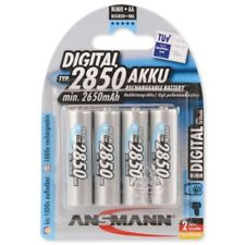 ANSMANN Mignon Digital AA Tipo 2850mAh Batteria Ricaricabile ad Alta Capaci Jz09