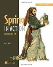 Spring in Action by Walls  New 9781617291203 Fast Free Shipping-,