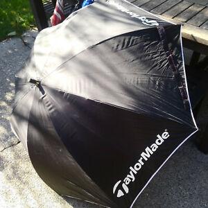"TaylorMade Golf Umbrella 46"" Single Canopy Lightweight Black"
