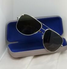 CALVIN KLEIN - Unisex Sunglasses - Green Satin Nickel - CK8036s 042 - NIB £225