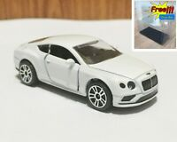 Majorette Bentley Continental GT V8 S White 1/64 no Package Free Display Box
