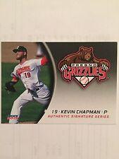 2015 Fresno Grizzlies Kevin Chapman Rookie Houston Astros