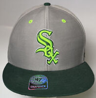 Chicago White Sox Snapback Baseball Hat MLB 47 Brand Adjustable Cap