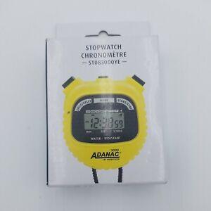 Marathon Adanac 3000 Digital Sports Stopwatch Timer with Extra Large Display ...