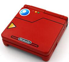 Custom Printed & rociado Pokedex Pokemon Nintendo Game Boy Advanced Sp SP
