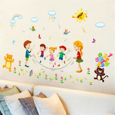 Children Skip Rope Room Home Decor Removable Wall Sticker Decal Decoration
