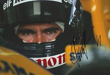 Damon Hill Autogramm signed 20x30 cm Bild