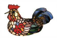 """Meyda Lighting 6.5""""H Rooster Accent Lamp Country"""