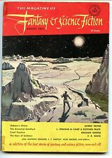 Fantasy and Science Fiction Vol 3 No 4. 1952 Approx grading : Fine