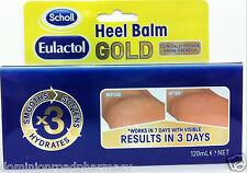 SCHOLL Eulactol GOLD Heel Balm - 120ml - Cracked Heel Treatment - BRAND NEW