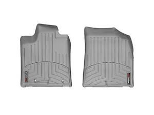 WeatherTech Custom Fit Front FloorLiner for Toyota Highlander Grey 461311