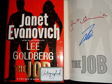 Janet Evanovich Lee Goldberg signed The Job 1st printing hardcover book