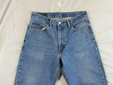 Levi 550 Relaxed Fit Faded Denim Jeans Tag 33x30 Measure 33x29