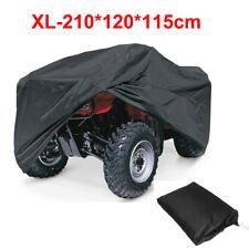 XL Black Waterproof ATV Quad Bike Cover for Yamaha Banshee Bear Tracker Bruin