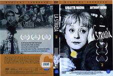 LA STRADA, THE ROAD (1954) - Federico Fellini, Anthony Quinn  DVD NEW