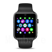 Bluetooth Smart Wrist Watch GSM SIM Phone Mate for iPhone IOS Android Samsung