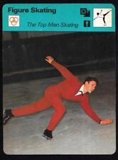 1977 Sportscaster Card Figure Skating The Top Men # 13-23 NRMINT.