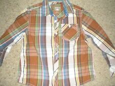 Next Checked Long Sleeve Collared Boys' T-Shirts & Tops (2-16 Years)