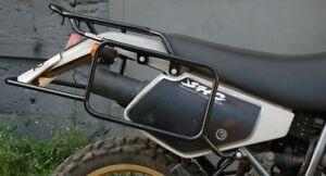 SUZUKI DR250SE - DR350SE WHOLE-WELDED LUGGAGE RACK SYSTEM BLACK MOTORCYCLE BIKE