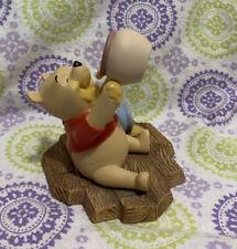 "Disney Pooh & Friends Winnie The Pooh Figurine ""Life Is sweet!� Euc"