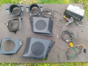 Ford Escort Mk4 XR3i RS Turbo S2 - radio, front and rear speaker grills mounts