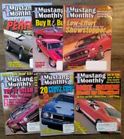 (Lot of 6) 2001-2002 Mustang Monthly Magazine Shelby Cobra Boss FREE SHIPPING