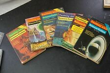 Fantasy and Science Fiction 1970's Lot of 6 Issues