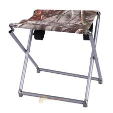 New Outdoor Lightweight Folding Portable Seat Stool Fishing Camping Garden Chair