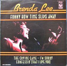 BRENDA LEE Funny How Time Slips Away UK 12 Track LP