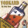 Vodkard by Rey Ben Gimmick Card Into Bottle Illusions Mentalism Magic Tricks Fun