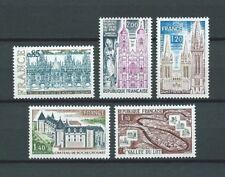 SERIE TOURISTIQUE - 1974 YT 1806 à 1810 - TIMBRES NEUFS** LUXE