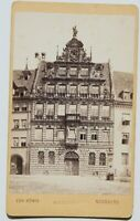 31836CDV Foto De Christian König Nurenberg Um 1870-1880 Antiguo Casa Edificio