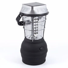 36 LED Power Hand Crank Solar Lantern Camping Light Rechargeable Outdoor
