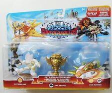 Skylanders ASTROBLAST Sky Racing Superchargers WHITE Game Figure Action Pack NEW