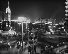 1964 World's Fair After Dark Original Fine Art 1st Generation Print