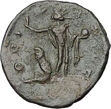 Aurelian  272AD Authentic Ancient Roman Coin Sol with globe Sun God Cult  i41211