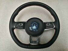 VW GOLF 7 CLUBSPORT GTI 5G0419091 FK ORIGINAL LETHER STEERING WHEEL WITH AIRBAG