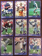 1993 Collectors Edge NFL Football 9 Card Lot Ungraded ShopTradingCards.com