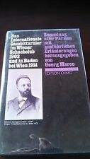 German Chess Book: Das internationale Gambitturnier im Wiener Schachklub 1903...