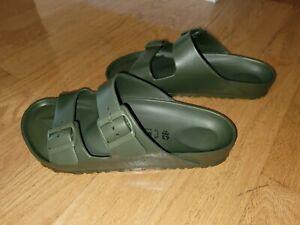 Birkenstock 280 Men's Arizona Eva Sandals Olive Size EU 43 US 10-10.5