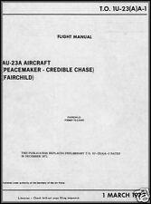Fairchild AU-23A  'Peacemaker'  historic manual Vietnam rare 1970 1960's detail