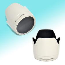White Lens Hood Tulip Flower Shade for Canon 70-200mm USM Non-IS 77mm (ET-83II)