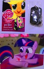NEW My Little Pony Dog Tag Enterplay #21 STARSWIRL THE BEARDED! Necklace! RARE!
