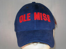 OLE MISS REBELS - NEW FOOTBALL HAT -  BLUE MAC DADDY