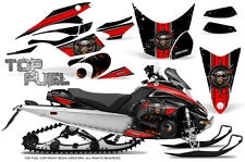 Yamaha FX Nytro 08-14 Graphics Kit CreatorX Snowmobile Sled Decals TOP FUEL RB
