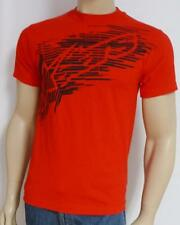Alpinestars Fractured Logo Red 100% Cotton T-Shirt New NWT Mens Small