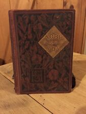 Vintage 1890 Toby And Tot Book
