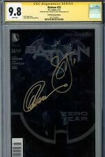 Batman #25 CGC 9.8 SS Newsstand Edition Double Signed