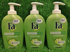 (13,07€/L) 3x Fa Cremeseife Hygiene & Frische Duft der Limmette 250ml Versand 0€