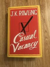 J.K Rowling Casual Vacancy Hardcover Book With Jacket .... Brand New